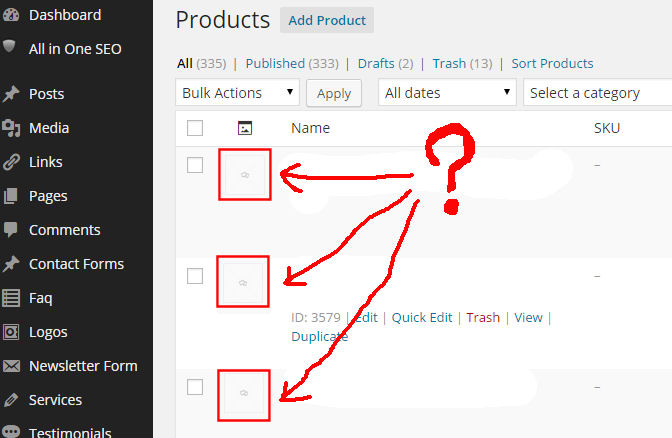 WooCommerce product images not importing