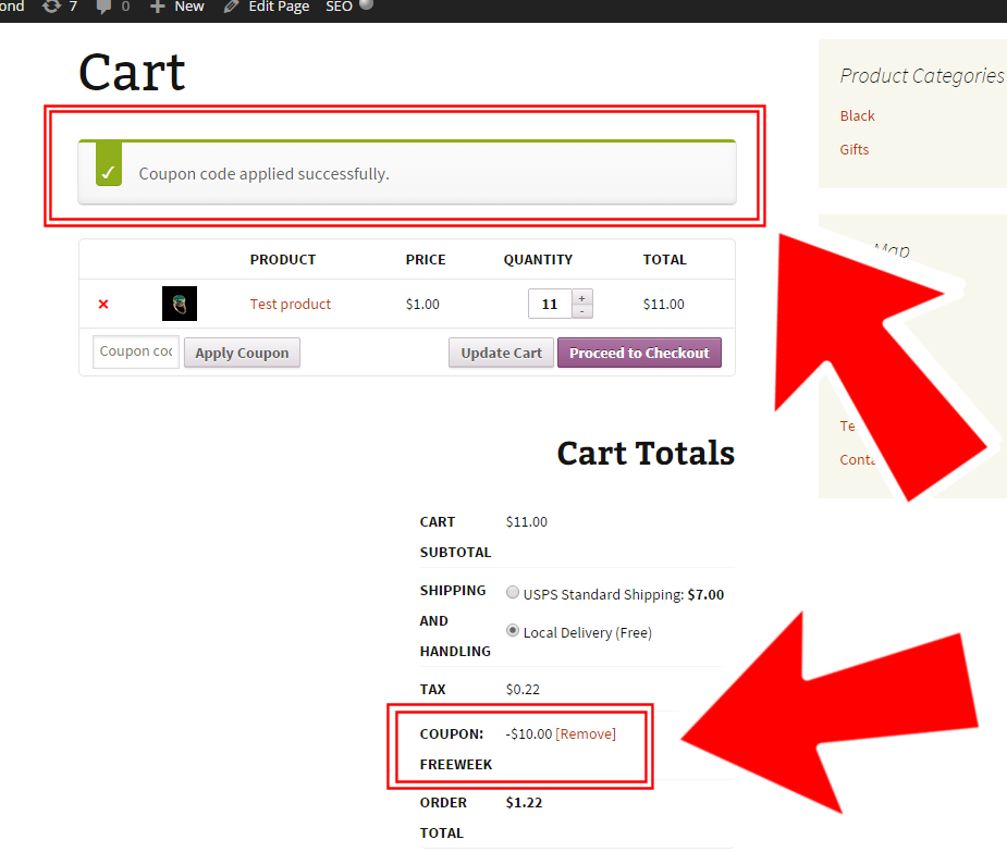 WooCommerce: how to add a coupon programmatically if a product is added to cart