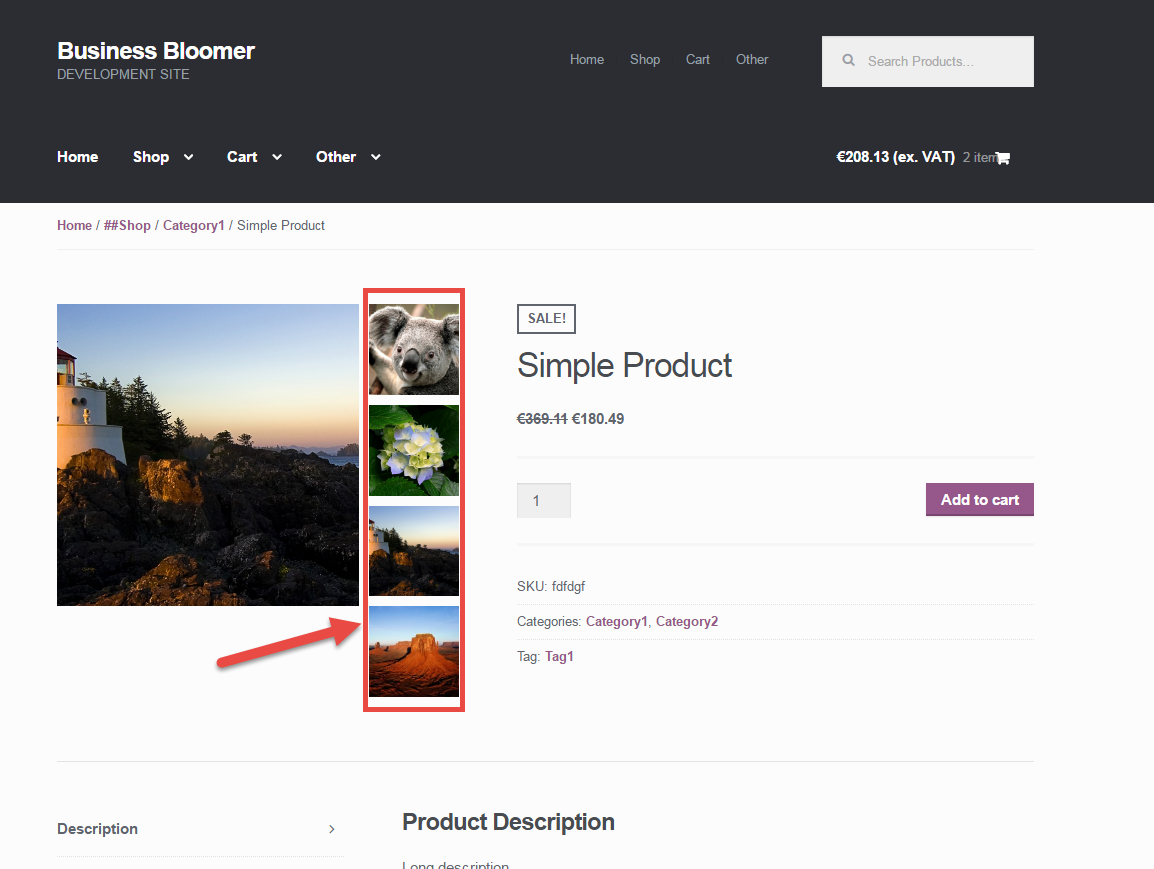 Woocommerce display coupons on product page